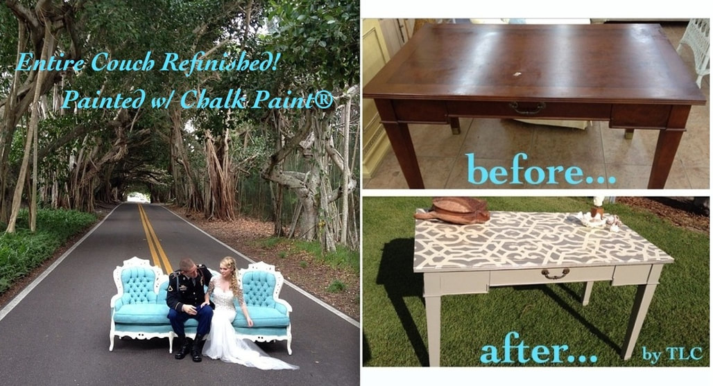 Furniture painted with Chalk Paint® by Annie Sloan