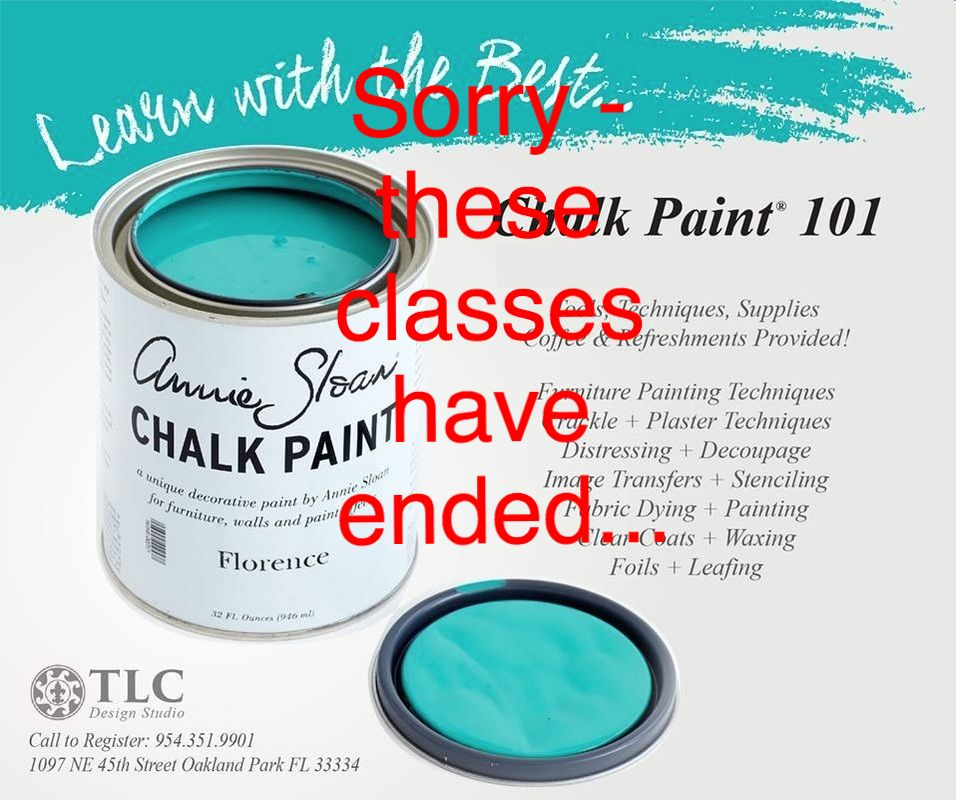 Chalk paint Florida